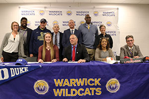 WVHS athletic signing-college letters of intent