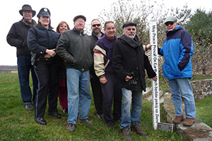 Rotary Peace Pole is dedicated at Sanfordville Elem. School