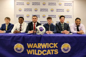 Six seniors sign letters of intent to pursue collegiate athletics