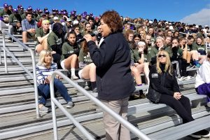 Warwick wins spring sports challenge, honors wounded warriors