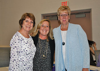 Park Avenue Elem. retirees 2019 with PA Principal Sandy Wood