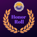 Promo image for honor roll announcement