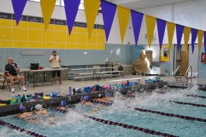 Girls swim and dive team aim to be their best