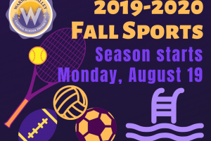 Warwick Valley Athletics' fall season begins Aug. 19