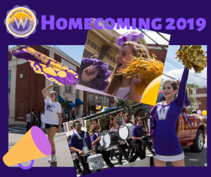 Photo collage of the 2018 homecoming