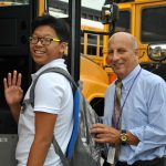 Middle School welcomes back John B. Russo