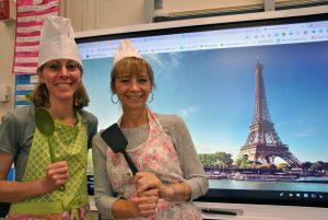 Teachers Lenora Shook and Julie Hornbeck