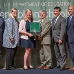 SES, WVMS Green Ribbon School awards presented to district officials at U.S. Department of Education ceremony