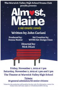 Almost Main comes to Warwick Nov. 1-2