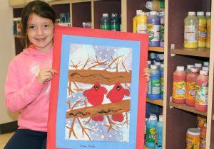 Jillian Parsons and artwork