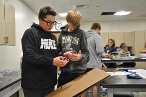 New STEM Lab brings learning to life at WVMS