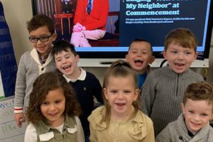 Park Avenue kindergarteners spread kindness while celebrating the importance of reading