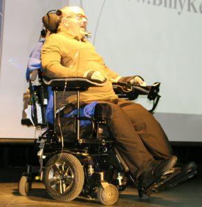 Motivational speaker Billy Keenan