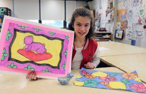 Alexa Keys and her artwork