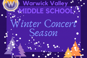 WV Middle School announces Winter Concert Season