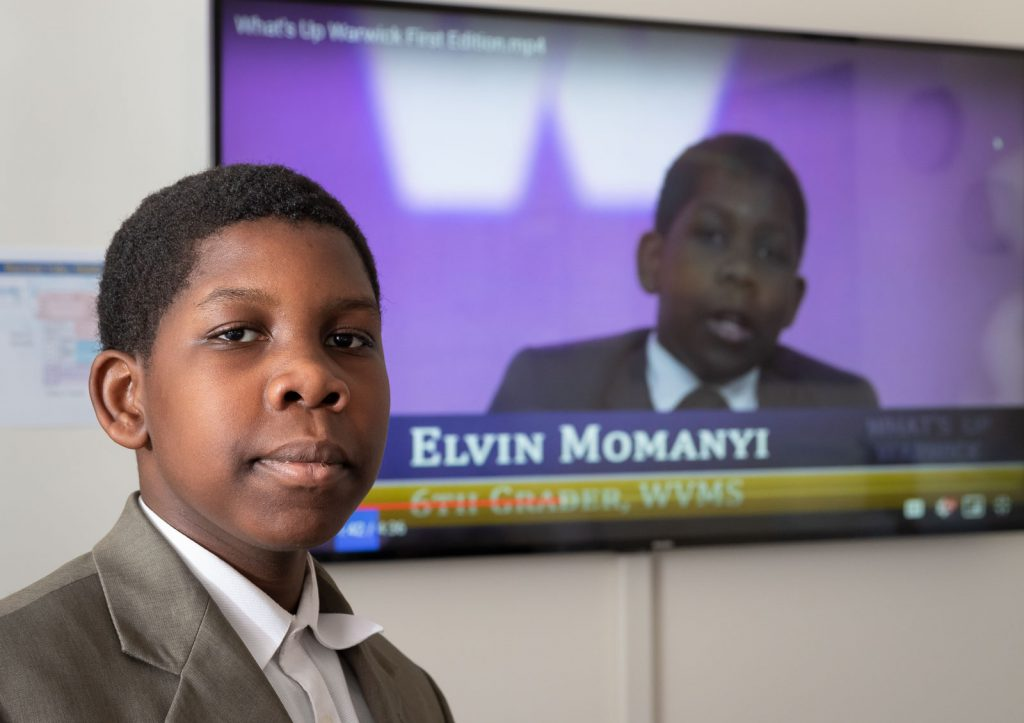 Portrait of Elvin Momanyi