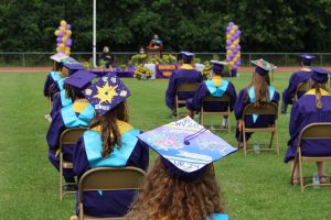 Warwick Valley High School graduates 300 during 3 days of small graduations