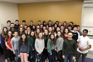 WVMS National Junior Honor Society raises money for local organizations