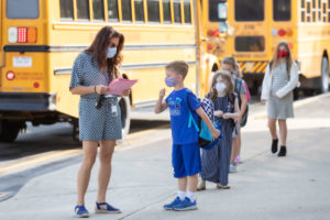 District opens its doors to students for 2020-2021 school year