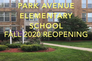 Park Avenue Elementary School Welcome Back video