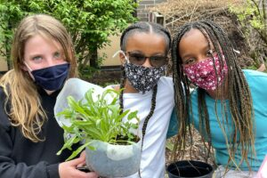 WVMS students find winter planting project to be sow cool