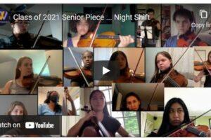 WVHS Virtual Senior Concert